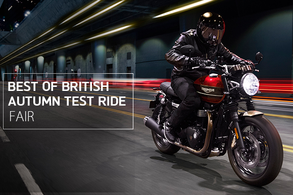 Best of British「Autumn Test Ride フェア」開催