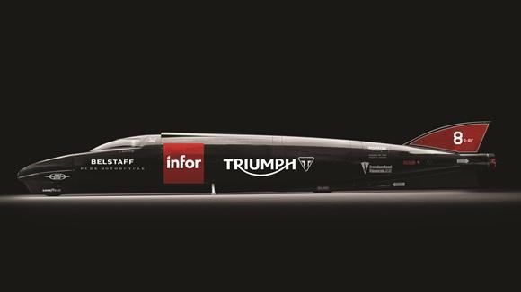 Land Speed Record トライアンフは世界最高速度樹立に向けて新たなる発進をします!