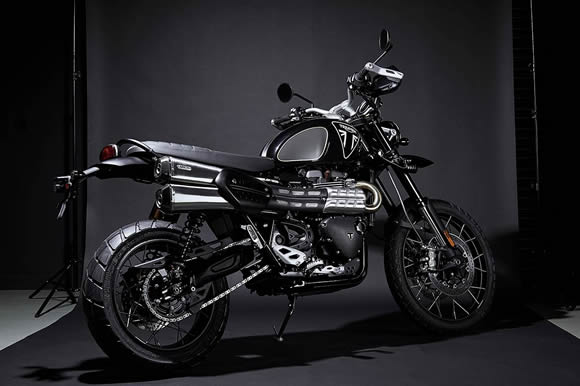 TRIUMPH SCRAMBLER 1200 BOND EDITION 誕生
