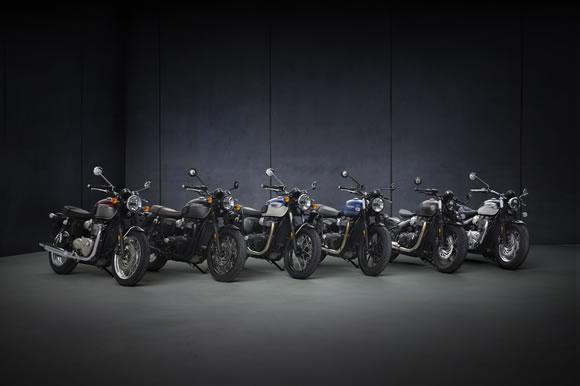 2021新型ボンネビルシリーズ発表