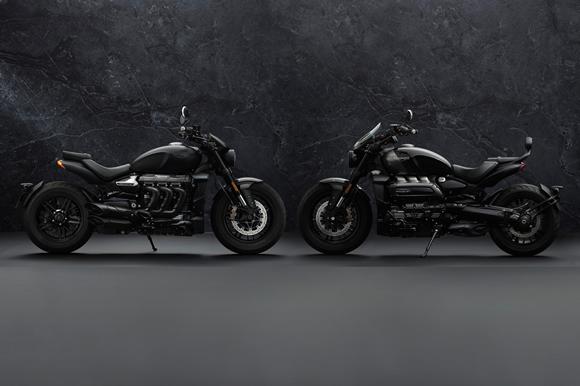 新型 ROCKET 3 R BLACKと 新型ROCKET 3 GT TRIPLE BLACK LIMITED EDITION発表