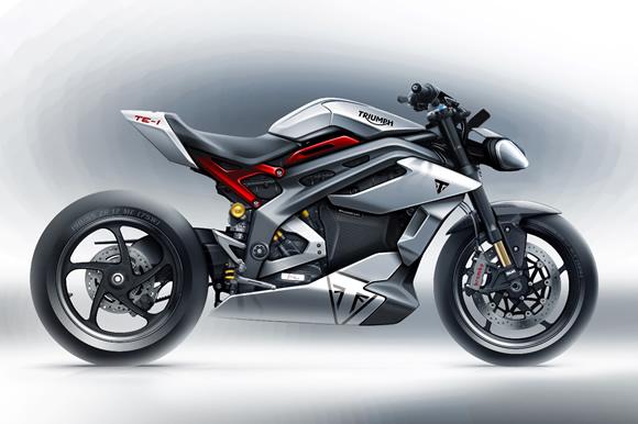 トライアンフ TE-1プロジェクト:英国製電動モーターサイクルにおける新たな可能性の創出
